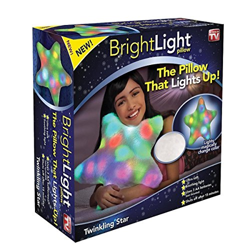 Seen Tv Toys (Bright Light Pillow Twinkling Star (White) by Bright Light Pillow)