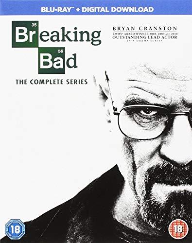 Breaking Bad - Season 01 / Breaking Bad - Season 02 / Breaking Bad - Season 03 / Breaking Bad - Season 04 / Breaking Bad - Season 05 / Breaking Bad - Final Season - Set (Breaking Bad Blu Ray Box Set 1 5)