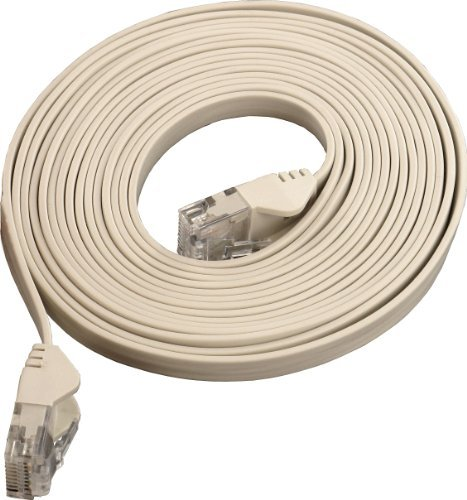Flat Cat6 Patch Cable 100ft Sewell Direct 608-SW-30055-100