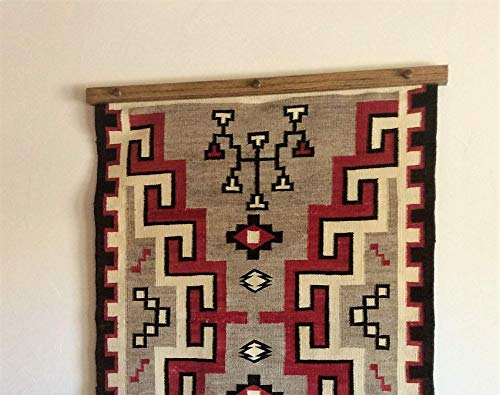 "37-44"" Custom Quilt & Rug Hangers - Several Finishes Available in Oak & Maple"