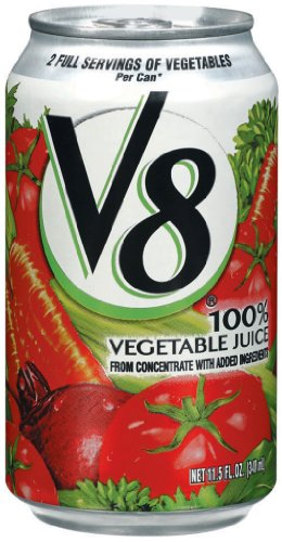 Amazon Com V8 Juice 11 5 Ounce Can Pack Of 24 Vegetable Juices