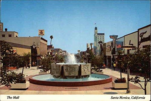 The Mall Santa Monica, California Original Vintage - Santa Monica Malls