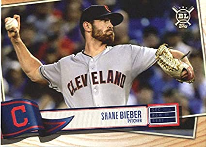 best loved dc7cf 46ea3 Amazon.com: 2019 Topps Big League #283 Shane Bieber ...