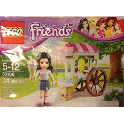 LEGO Friends: Emma's Ice Cream Stand set 30106 (bagged): Toys & Games