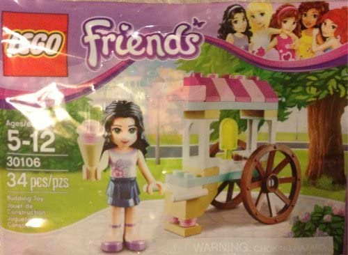 LEGO Friends: Emma's Ice Cream Stand set 30106 (bagged)