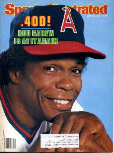 Sports Illustrated June 13 1983 Rod Carew/Anaheim Angels on Cover, St. Louis Cardinals, Moses Malone/Philadelphia 76ers, Rebecca Twigg/Cyclist
