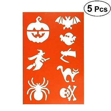 Healifty 2 Stucke A4 Halloween Hexe Kurbis Spinne Zeichnung Vorlagen