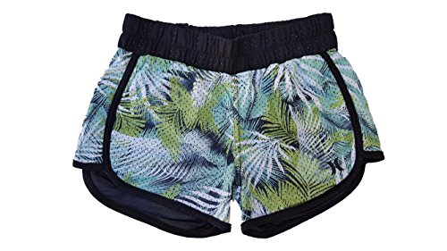 t Double Knit Beachrider Shorts (Medium, Flash Lime (E1E) / Black/Flash Lime) (Hurley Flash)