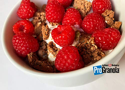 ProGranola Cereal | Chocolate | 13g Protein | Paleo | 3 Net Carbs | Gluten-Free | Grain-Free | 2 Pack by Julian Bakery (Image #2)