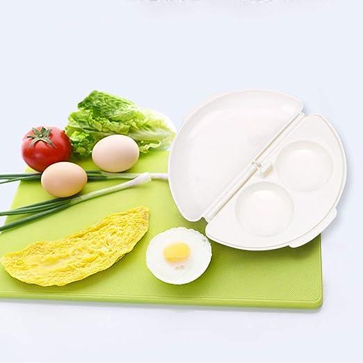 Sartén multifuncional para microondas y omelet, para desayuno ...
