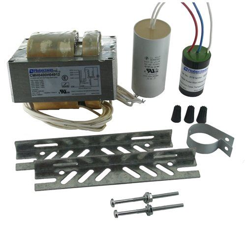 ROBERTSON 3P10172 CMH0400H04912 M, Magnetic CWA HID Ballast Kit for 1 400W M155/M135 Metal Halide Lamp, Quad-Tap 120/208/240/277Vac, 60Hz, Successor to ROBERTSON 3P10016 CMH0400H04912 Robertson Worldwide
