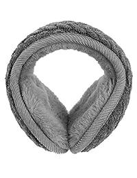OFKPO Winter Knit Foldable Ear Warmer Earmuffs Ear Winter Warmers Men Women