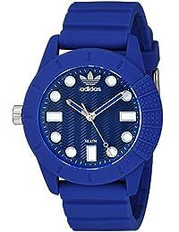 adidas 'ADH-1969' Quartz Plastic and Silicone Casual Watch, Color:Blue (Model: ADH3103)