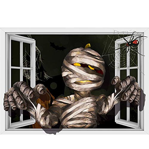 Halloween Zombie Sticker,Lovewe Halloween Zombie Background Wall Sticker Window Home Decoration Decal Decor -