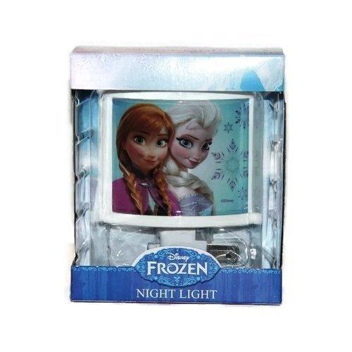 Disney Frozen Elsa Anna Children's Night Light Room Decor Entrance Hallway Playroom Bathroom Kid's Bedroom by Disney Frozen