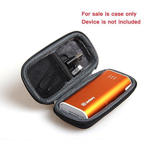 Hard EVA Travel Black Case for Jackery Bar Premium 6000mAh External Battery Charger Power Bank by Hermitshell