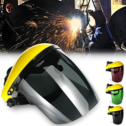 OKIl Welding Mask Clear Face Shield Screen Mask Visors Eye Face Protection Scratch Resistant Lens