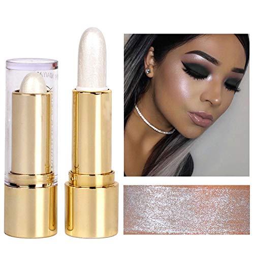 Shimmer Shining Face Highlighters Cream Makeup Foundation Waterproof Bronzer Countour Highlighter Stick ()