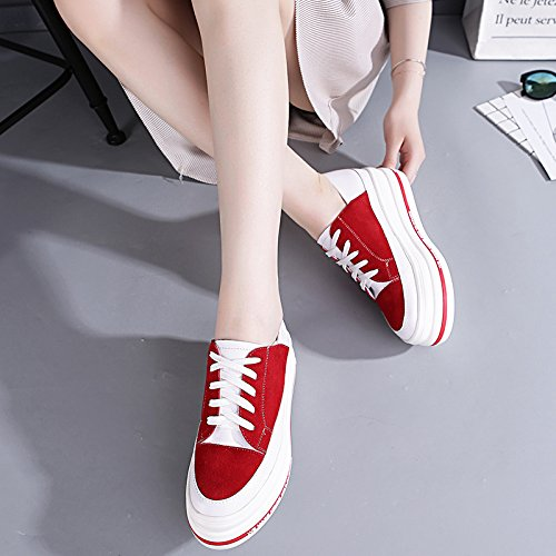 leisure thick Leisure Korean nine platform sports Thirty white increased GTVERNH shoes soled sports shoe zpnpgx