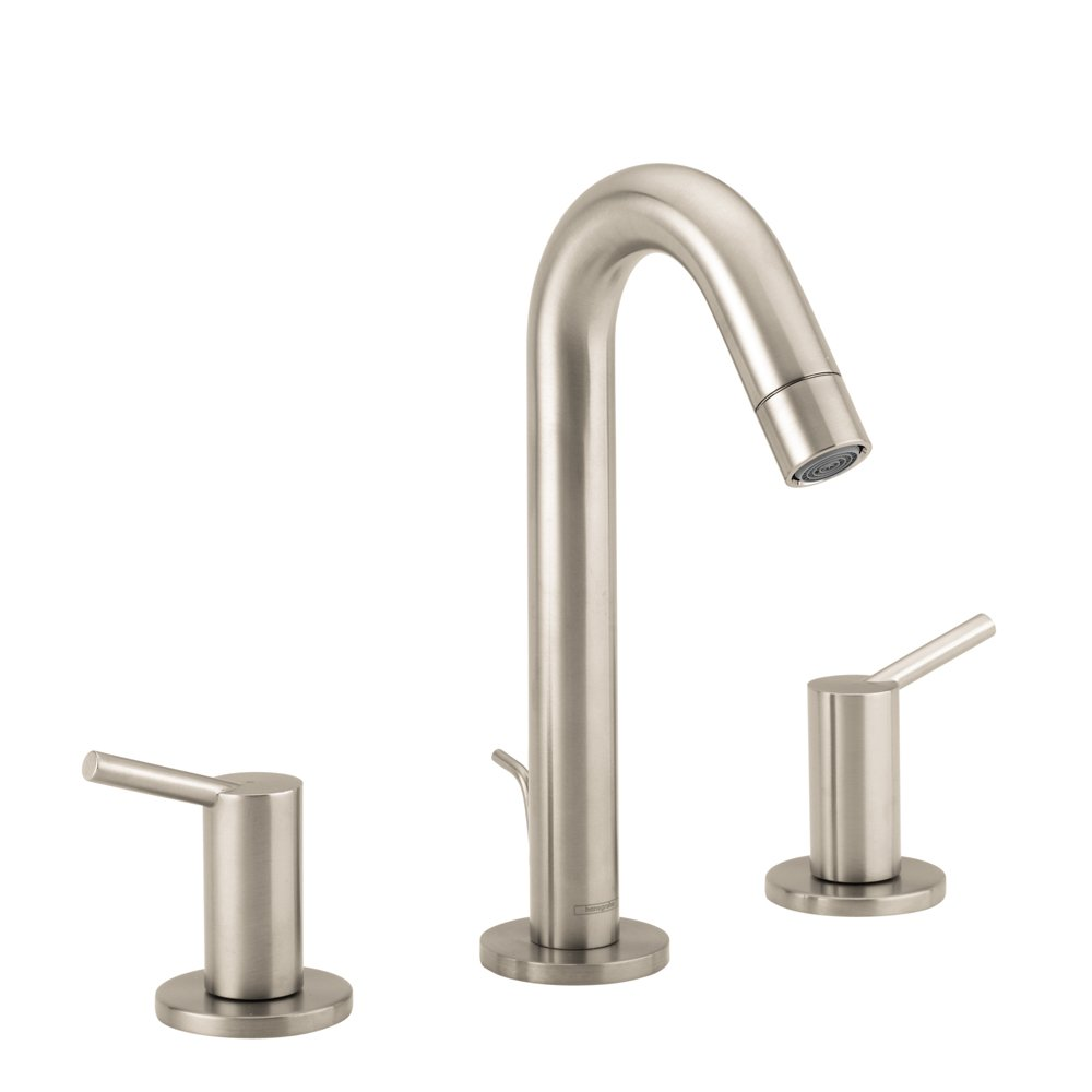 Hansgrohe 32310821 Talis S Widespread Faucet, Brushed Nickel ...
