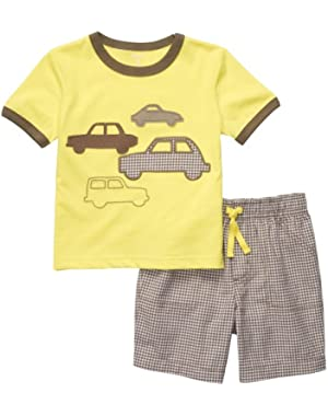 Carter's Boys 2-piece Short Set (3M-24M) (3 Months)