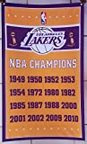 Los Angeles Lakers vertical flag NBA Champions Los Angeles Lakers banner NBA Los Angeles Lakers Flag basketball banner--polyster flags,Brass Grommets ,Anti-UV,Digital Printing--NBA flags 3 X 5 Ft
