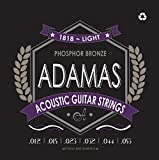 Adamas OV1818E Light (.012-.053 ga) Phosphor Bronze Acoustic Guitar Strings