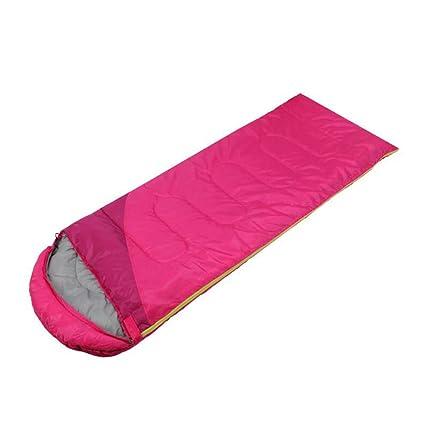 XY&CF Bolsa de Dormir de Viaje al Aire Libre Ultraligero Cálido Saco de Dormir Adecuado para