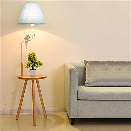 LILY Lámpara de pie minimalista de la mesa de centro de ...
