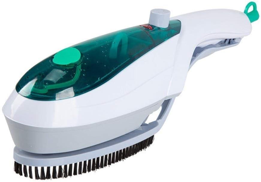 Aomednx 110v 220v Mini Hierro De Vapor Portátil De Limpieza En Seco Cepillo For La Ropa del Aparato Electrodoméstico Portátil De Viaje Trajes De Vapores Ropa (Color : Blue)