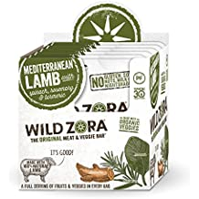 Wild Zora - Meat & Veggie Bars (10 pack) (Mediterranean Lamb)