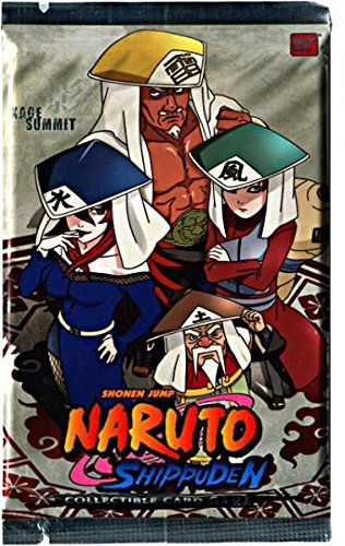 Amazon.com: Naruto Shippuden Juego de cartas Kage Summit ...