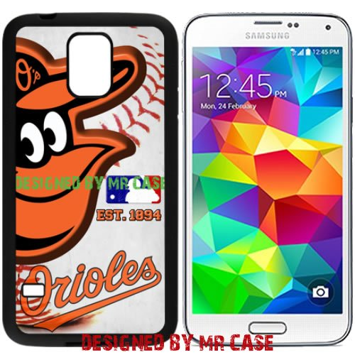 Orioles Baltmore Baseball New Black Samsung Galaxy S5 Case By Mr Case - Baltimore Orioles Case