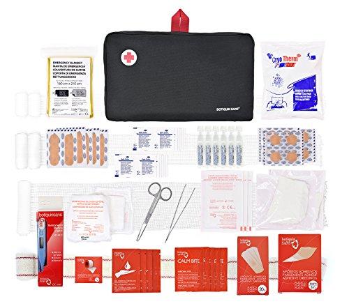 🥇 Botiquín primeros auxilios SUPER ROL con 120 artículos indispensables para realizar curas de emergencia