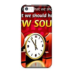 High Quality Shock Absorbing Case For Iphone 5c-new Year Greetings