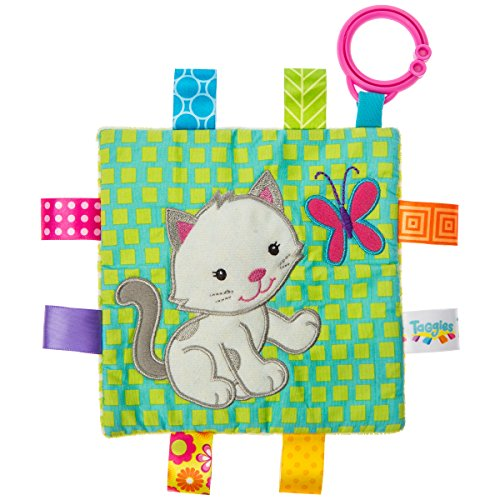Taggies Crinkle Me Baby Toy, Kitten (Little Toy Cat)