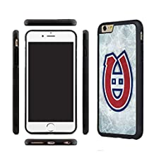 CHICEXP Montreal Canadiens iPhone 6/6s Protective Case Cover-with Tempered Glass Screen Protector