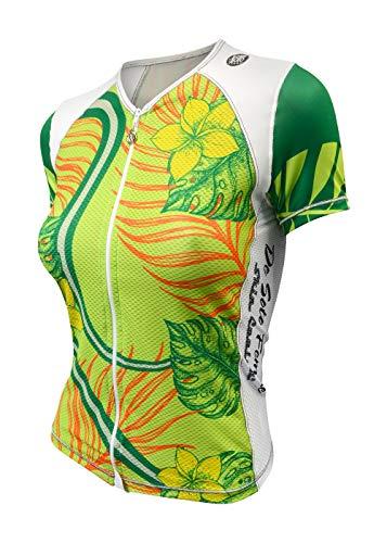 De Soto Femme Skin Cooler Tri Top - Short Sleeve - WFVSC1-2019 (X-Large, Fern Frond)