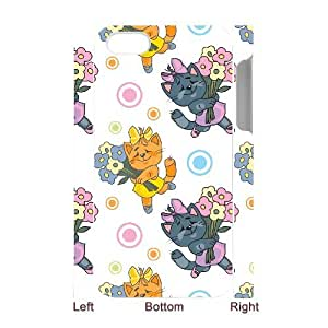 SYYCH Phone case Of Cartoon Cat Cover Case For Iphone 4/4s