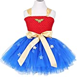 Moon Kitty Girls Captain America Costume Dresses Red