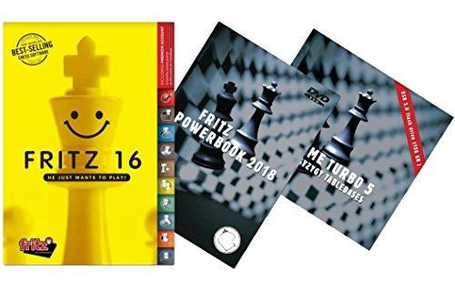 Chess Software Endgame (Fritz 16 + Fritz Powerbook 2018 + Endgame Turbo 5 - Ultimate Fritz Chess Software Bundle)