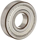 FAG 6306-2ZR-C3 Deep Groove Ball Bearing, Single Row, Double Shielded, Steel Cage, C3 Clearance, Metric, 30mm ID, 72mm OD, 19mm Width, 9500 rpm Maximum Rotational Speed, 3650 lbf Static Load Capacity, 6550 lbf Dynamic Load Capacity