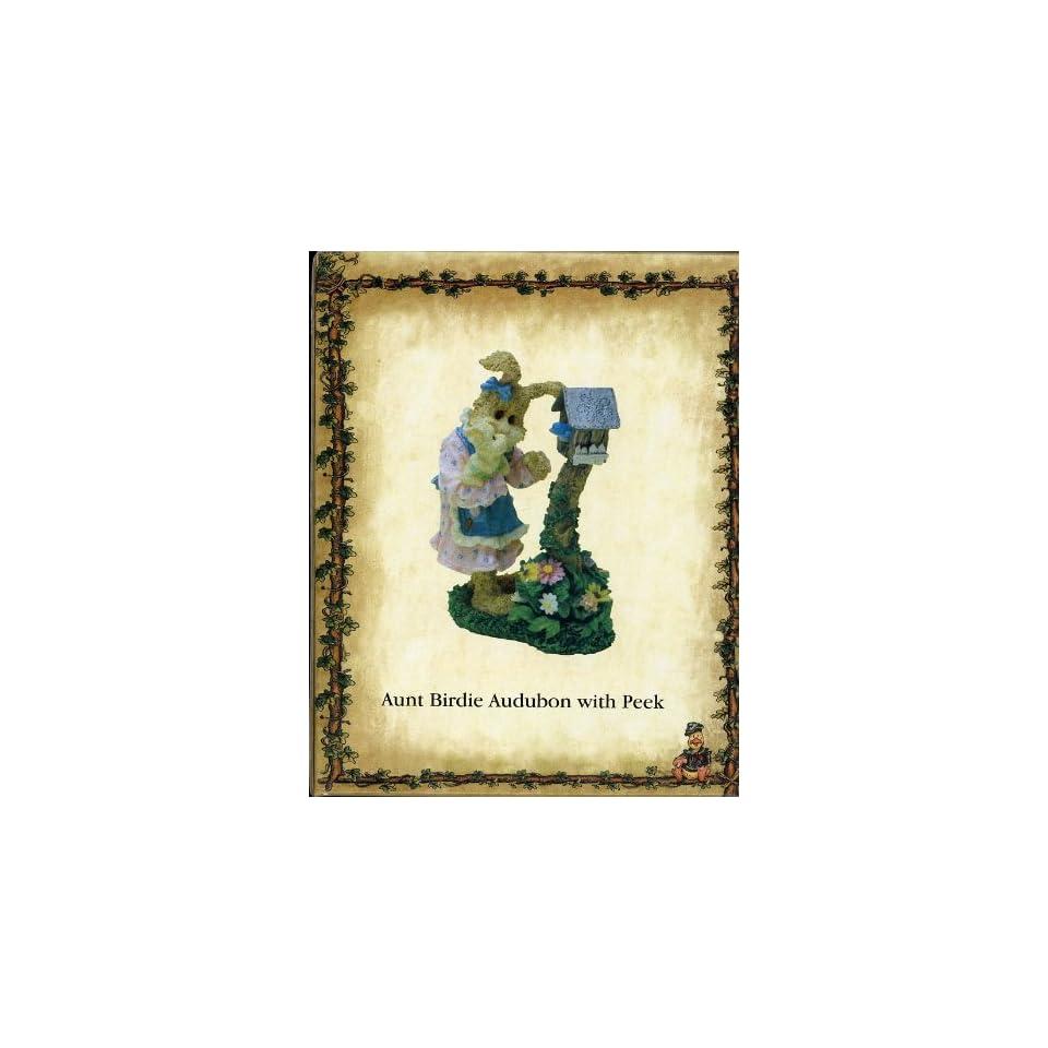 Boyds Bears & Friends   Critters & Co.   Aunt Birdie Audubon with Peek Style #36725