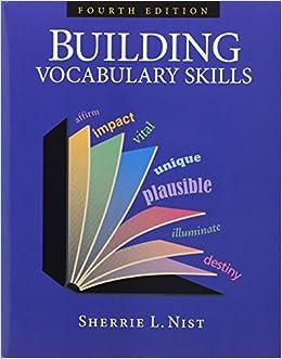 df46b6e47d8c Building Vocabulary Skills with Vocabulary Plus subscription: Sherrie L.  Nist: 9781591944515: Amazon.com: Books