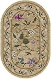 Brumlow Mills Butterfly Rug, 20-Inch by 34-Inch, Topaz For Sale