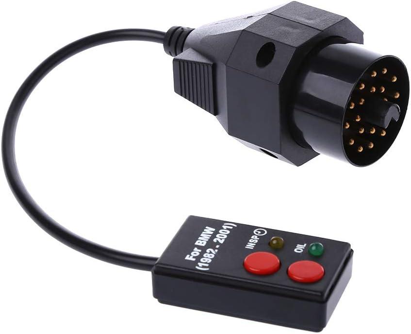 Haia7/K4/k 20/Pin Sockets Oil Service Reset Outil de Diagnostic de num/érisation pour E30/E34/E36/E39/Z3
