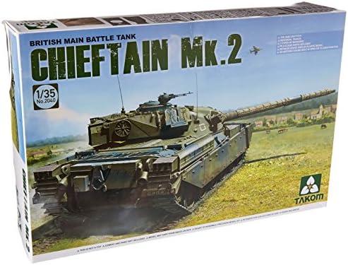 TAKOM 1/35 イギリス 主力戦車 チーフテン Mk.2 プラモデル TKO2040