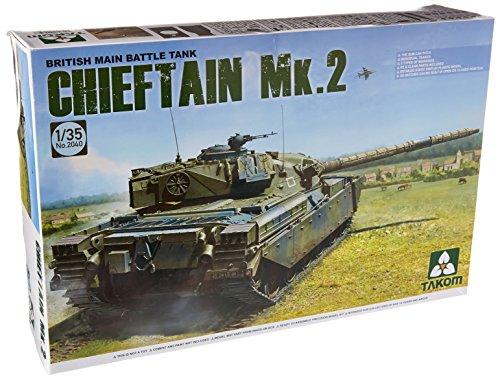 Main Tank Battle British (TAKom Chieftain MK.2 British Main Battle Tank Model Kit)