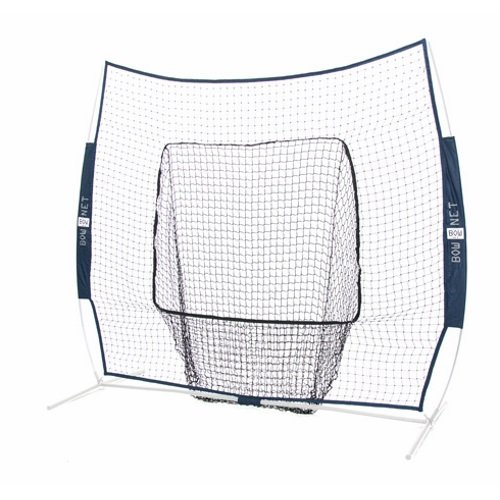 Bownet Big Mouth Colors 7' x 7' Training Sock Replacement Net, Navy Blue (Net Only)