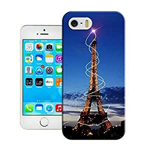 New Fashion Case Customizable It Awesome Eiffel Tower iphone 4s case cover / Cover of ZwzxIEqI1EV Your valuable cell phone tight-skinned